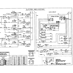 Kenmore Oven Wiring Diagram 4 Gang 2 Way Light Switch 79046803991 Elite Electric Slide In Range Timer