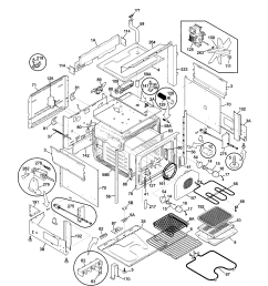 79046819992 elite dual fuel slide in range body parts diagram [ 1696 x 2200 Pixel ]