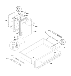 79099503993 elite electric range drawer small door parts diagram [ 1700 x 2200 Pixel ]