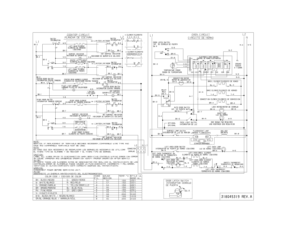 medium resolution of 79099503993 elite electric range wiring diagram parts diagram