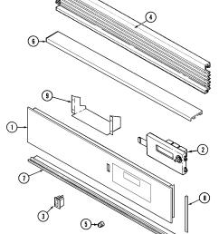 9475xvb range control panel parts diagram [ 1605 x 2149 Pixel ]
