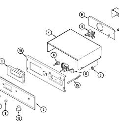 9825vuv electric oven control panel parts diagram [ 2097 x 1729 Pixel ]