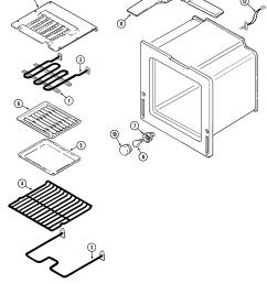 oven parts diagram [ 2205 x 2656 Pixel ]