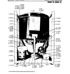 a806 washer front panel removed prior to series 01 parts diagram [ 1740 x 2233 Pixel ]