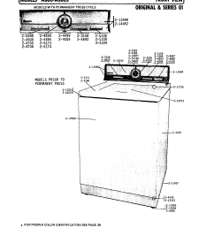 a806 washer front view series 1 parts diagram [ 1735 x 2232 Pixel ]