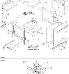 acs3350ab gas range cabinet parts diagram [ 1063 x 1375 Pixel ]