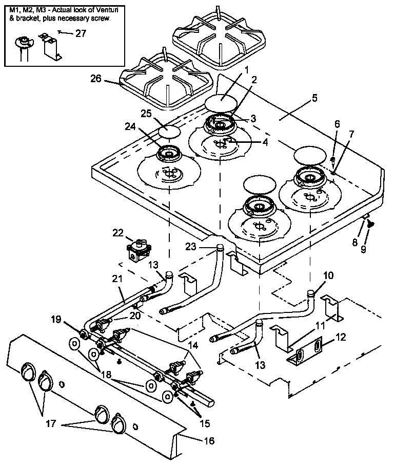 amana gas stove wiring diagram