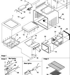 arg7600ll gas range cavity parts diagram [ 800 x 1052 Pixel ]