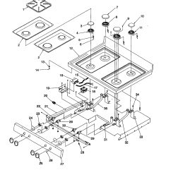 arg7600ww amana arg7600ww timer clock erc main top parts diagram [ 1696 x 2200 Pixel ]