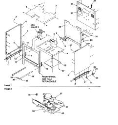 arg7800 gas range cabinet parts diagram [ 1696 x 2200 Pixel ]