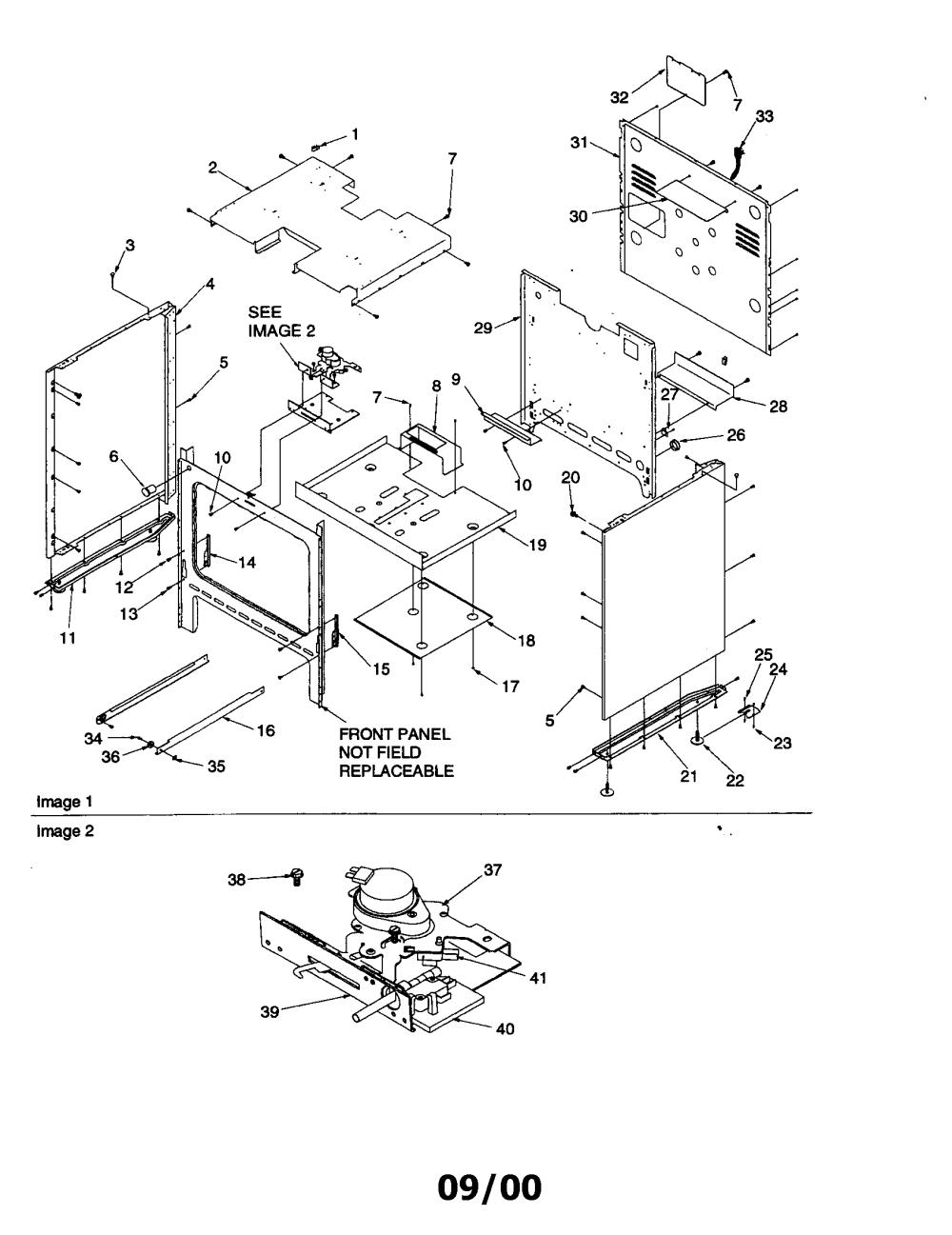 medium resolution of arg7800 gas range cabinet parts diagram
