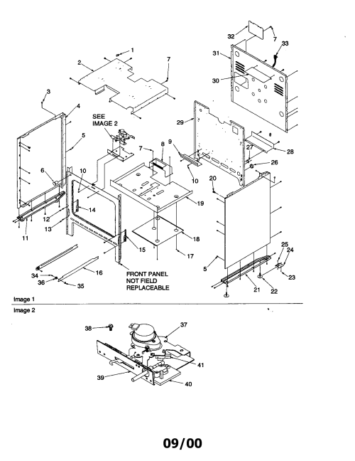 small resolution of arg7800 gas range cabinet parts diagram