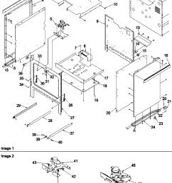args7650ll gas range cabinet parts diagram [ 979 x 1308 Pixel ]