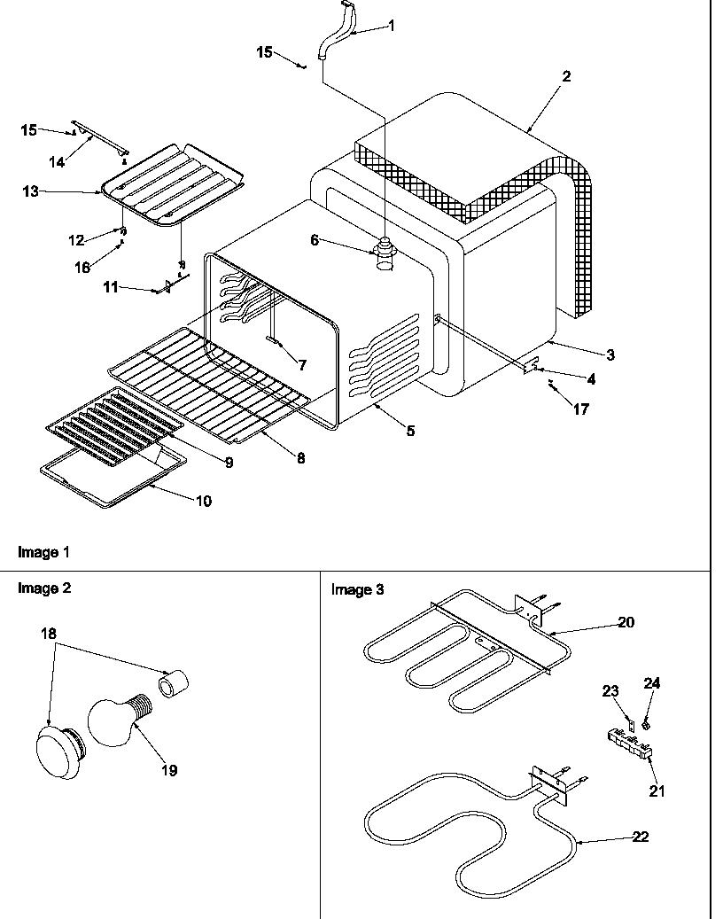 medium resolution of art6511ww electric range cavity parts diagram