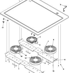 arts6650 slide in electric range main top parts diagram [ 784 x 1025 Pixel ]
