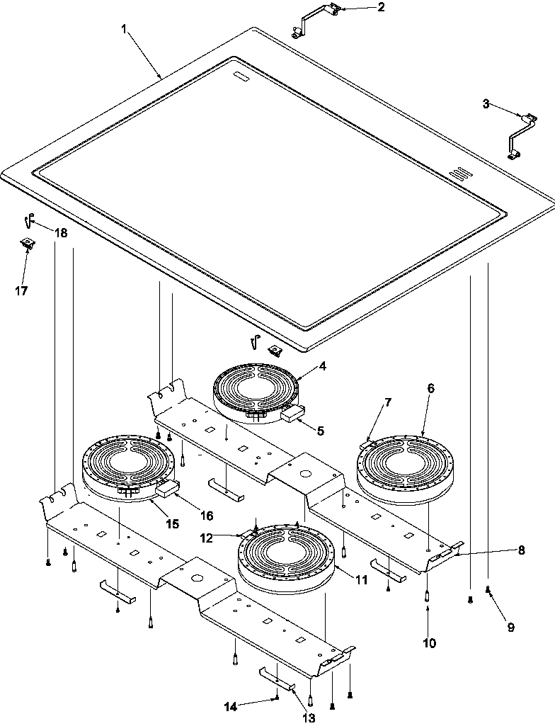 medium resolution of arts6650 slide in electric range main top parts diagram