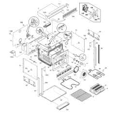 Bosch Oven Wiring Diagram Whirlpool Cabrio Washer Frigidaire Cgeb27s7cs1 Electric Walloven Timer Stove