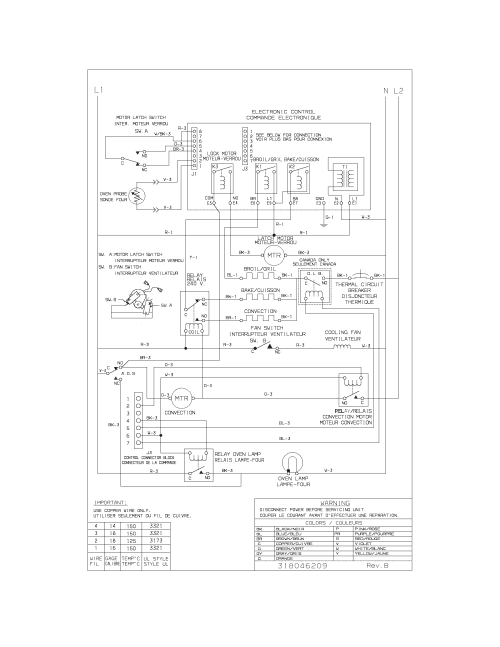 small resolution of  wiring diagram parts frigidaire cgeb27s7cs1 electric walloven timer stove clocks and frigidaire dishwasher wiring diagram at