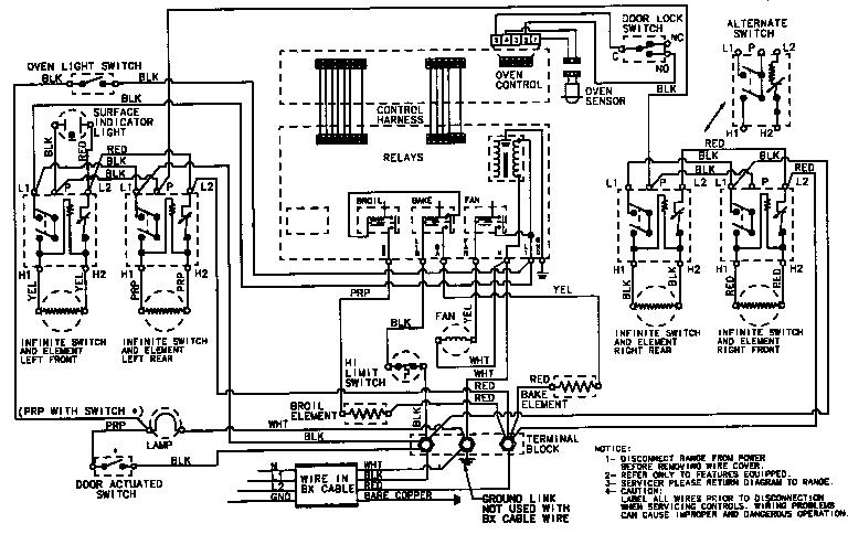maytag refrigerator wiring schematic