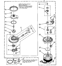 du6000xr1 dishwasher 3367443 pump and motor parts diagram wiring harness parts diagram [ 864 x 1099 Pixel ]