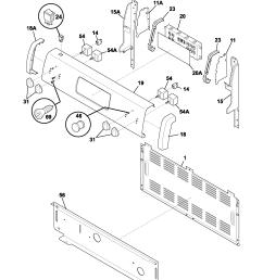 fef352asf electric range backguard parts diagram [ 1700 x 2200 Pixel ]
