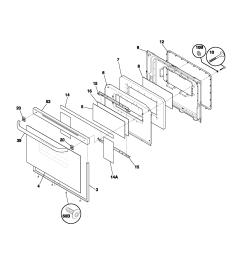 fef352asf electric range door parts diagram wiring schematic parts diagram [ 1700 x 2200 Pixel ]