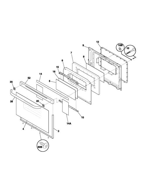 small resolution of fef352asf electric range door parts diagram wiring schematic parts diagram