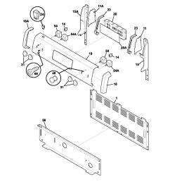 fef352aug electric range backguard parts diagram [ 1700 x 2200 Pixel ]