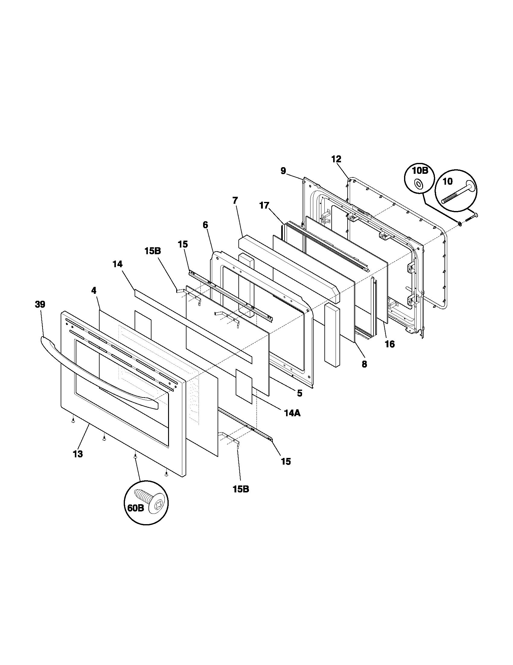 frigidaire wiring diagram driving light narva fef366ccb electric range timer stove clocks