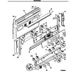 fef389wfcd electric range backguard parts diagram [ 848 x 1084 Pixel ]