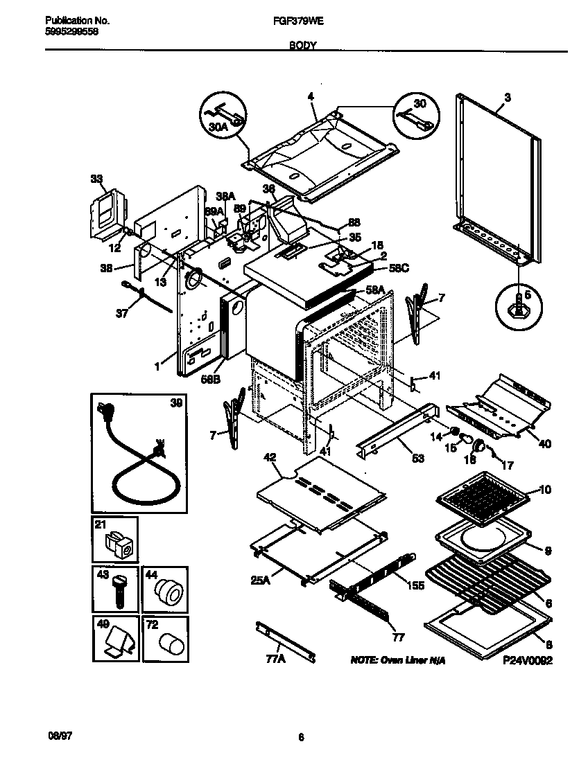Frigidaire Oven Parts Diagram