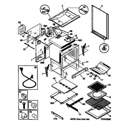 frigidaire fgf379wecf gas range timer stove clocks and appliancefgf379wecf gas range body parts diagram [ 848 x 1100 Pixel ]