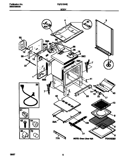 small resolution of frigidaire fgf379wecf gas range timer stove clocks and appliancefgf379wecf gas range body parts diagram