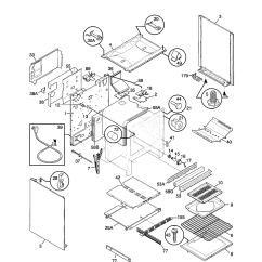 Frigidaire Gallery Dishwasher Parts Diagram Stc 1000 Temperature Controller Wiring Fgf379wecs Range Timer Stove Clocks And
