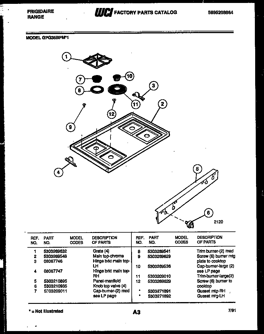 Fridgidaire Stove Counter Top Wiring Diagram : 44 Wiring