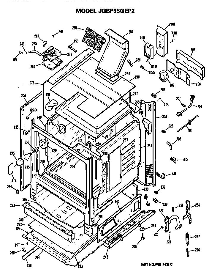 Ge Gas Stove Wiring Diagram
