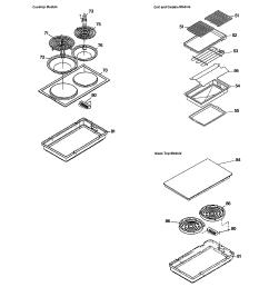 jsp69wvww 30 slide in downdraft range accessories parts diagram [ 2320 x 2475 Pixel ]