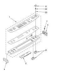 kesc307hbt4 electric slide in range control panel parts diagram [ 3348 x 4623 Pixel ]