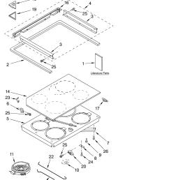kesc307hbt4 electric slide in range cooktop literature parts diagram [ 3348 x 4623 Pixel ]