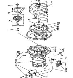 kudm220t0 dishwasher pump and motor parts diagram [ 848 x 1088 Pixel ]