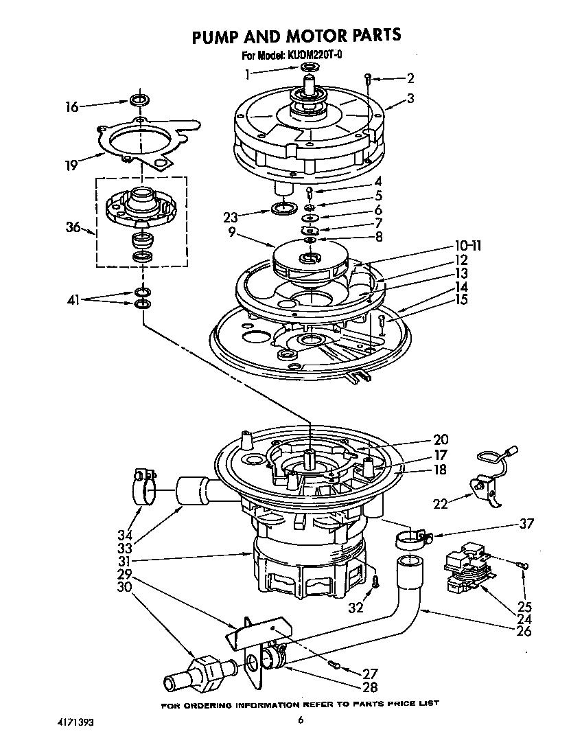 medium resolution of kudm220t0 dishwasher pump and motor parts diagram