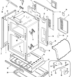 maytag mgr6875adb gemini 30 double oven freestanding gas rangemgr6875adb gemini 30 double oven freestanding gas range body parts diagram [ 2250 x 3150 Pixel ]