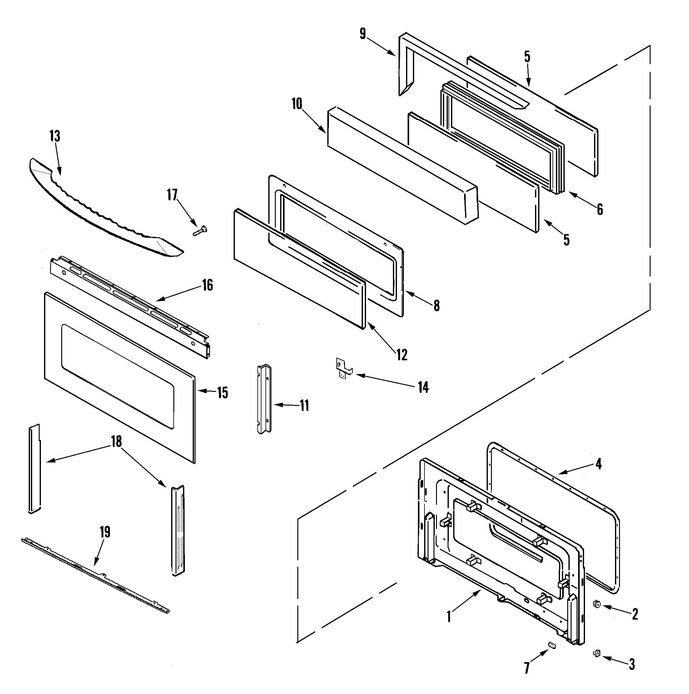double door parts diagram wiring motorcycle alarm maytag mgr6875adb gemini 30 quot oven freestanding gas