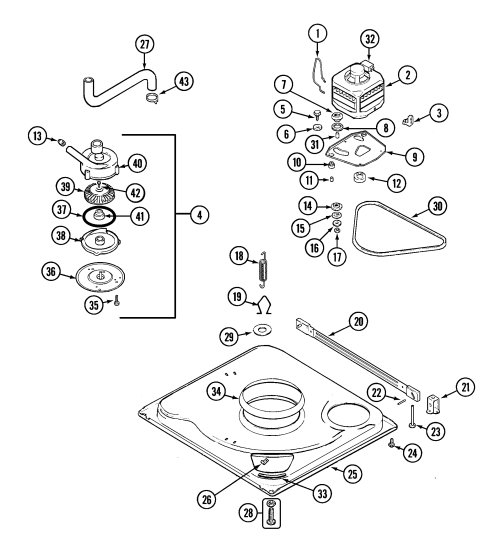 small resolution of pav2000aww washer base parts diagram