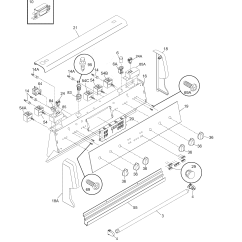 Oven Heating Element Wiring Diagram 2002 Chrysler Sebring Frigidaire Pfef375cs2 Electric Range Timer Stove Clocks