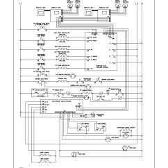 Schematic And Wiring Diagram 2003 Pontiac Sunfire Radio Frigidaire Plef398ccc Electric Range Timer Stove Clocks