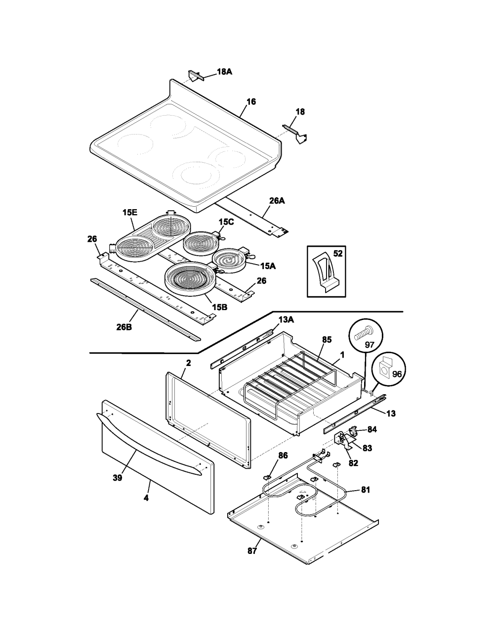 medium resolution of frigidaire plef398ccd electric range timer stove clocks and frigidaire electric oven wiring diagram
