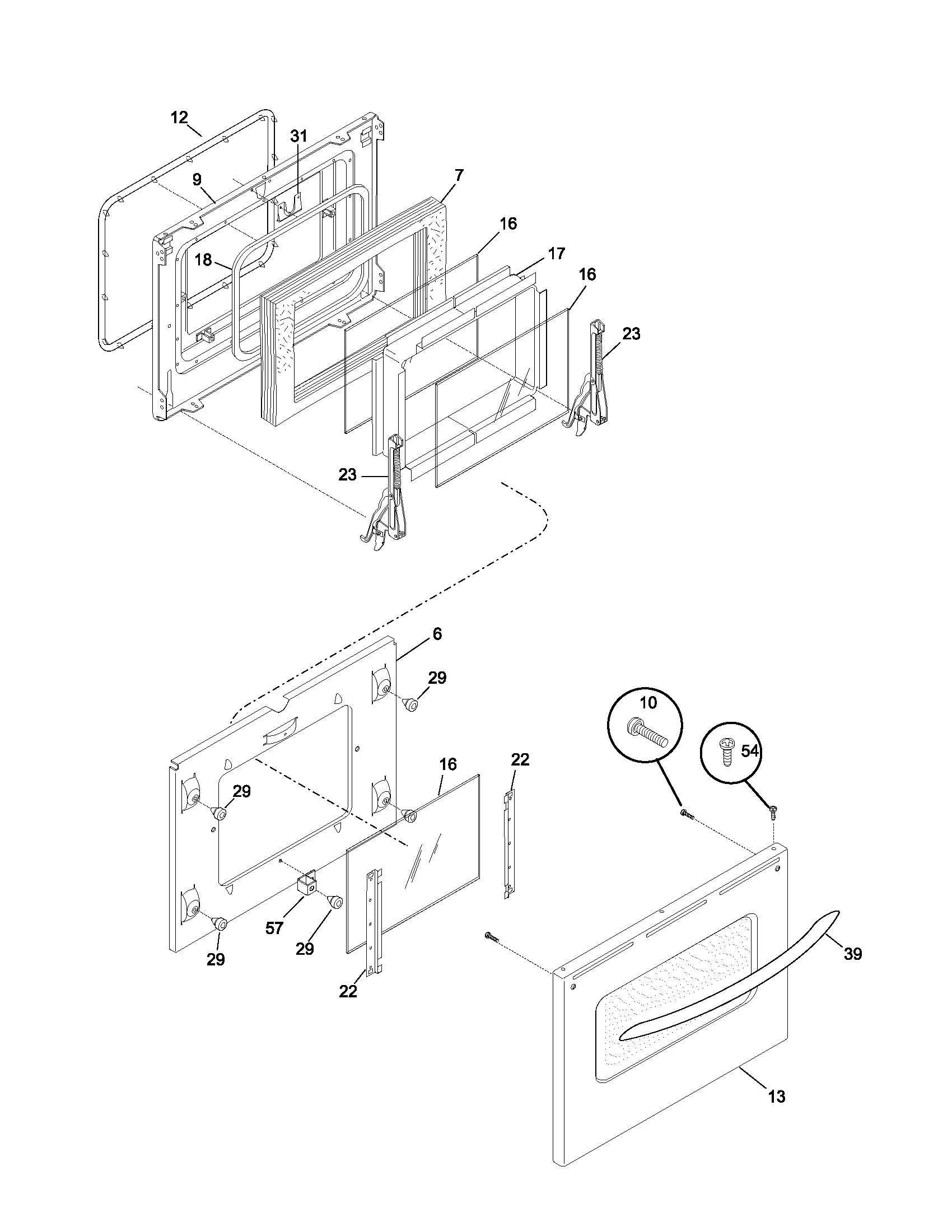 Frigidaire Ples389acc Electric Range Timer