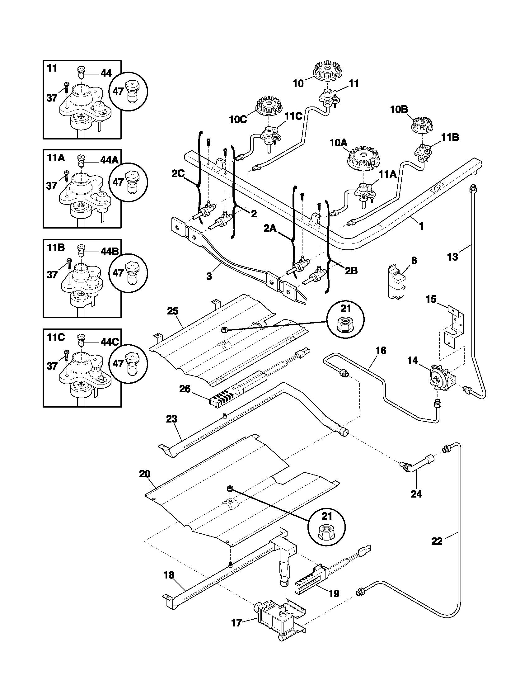 diagram of a range schematic wiring