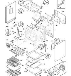 plgf389ccb gas range body parts diagram [ 1700 x 2200 Pixel ]